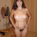 femme mature string