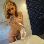 selfie salle de bain