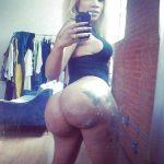 femme noir au gros cul bien gras et juteux