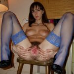 lingerie sexy femme coquine chatte poilue