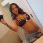 selfie en lingerie