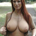 rousse aux gros seins